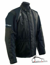 Buffalo Raider Motorbike Jacket Waterproof Motorcycle Ride CE Armour Black S