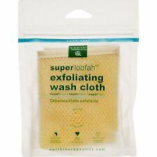 EARTH THERAPEUTICS - Super Loofah Exfoliating Wash Cloth - 1 Wash Cloth