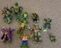 (LOT Of 10) 2012,2013+ TMNT Teenage Mutant Ninja Turtle Action Figures Viacom
