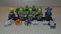 Lego Figuren und Teile Konvolut Atlantis atl017 atl003 atl004 atl012 atl005 etc.