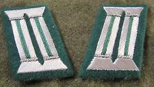 WWII GERMAN HEER ARMY PANZERGRENADIER OFFICER TUNIC JACKET COLLAR TABS