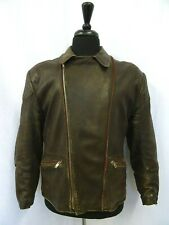 Men's Vtg WW2 1940's Leather Luftwaffe Jacket 40R (S)