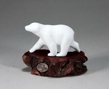 POLAR BEAR CUB Statue New direct from JOHN PERRY 4in Figurine 6in Long