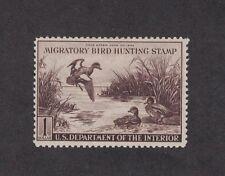 RW9 - Federal Duck Stamp. Single. MH. OG.  #02 RW9mh