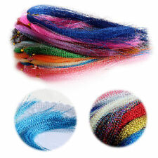 100Pcs/Bag Crystal Flash Fly Tying Material Fishing Lure Tying Making DIY Craft