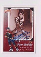 2004 Atomic McDonald's Dany Heatley Atlanta Thrashers Autographed Hockey Card