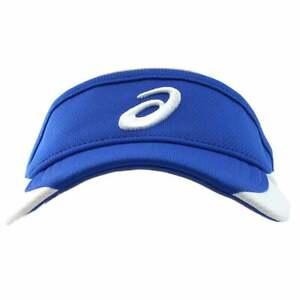 ASICS Team Visor Mens   Athletic  Visor Adjustable Closure - Blue