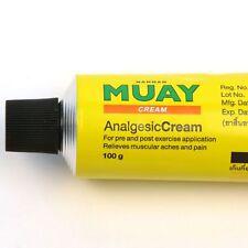 New! Namman Muay Thai Cream Boxing Aroma Analgesic Muscular Pain Relief 100 G.