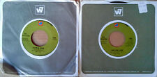 THE ASSOCIATION - TIME FOR LIVIN' + SIX MAN BAND - WB /7 ARTS - (2) 45 LOT