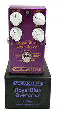 Mad Professor Royal Blue Transparent Overdrive Guitar Effect Pedal