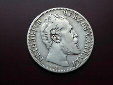 Deutschland 2 Mark 1876 A Herzog v. Anhalt Kaiserreich J19 schöne Patina