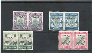 SG 92/95 S.W.AFRICA MINT SET CAT £30