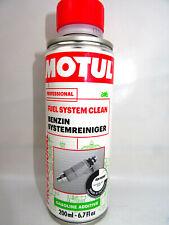Kraftstoffsystemreiniger 200ml Motul Fuel System Clean Quad Motorrad Reiniger