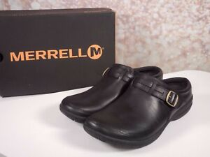 Merrell - Women's Encore Kassie Buckle Slide Clog - Black - Select Size
