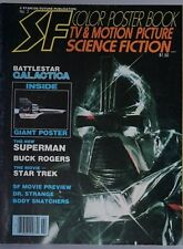 Starlog SF #2 1978 Battlestar Gallactica Poster and much more Mint!