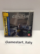 MOBILE SUIT GUNDAM - SEGA SATURN - JAP - NEW