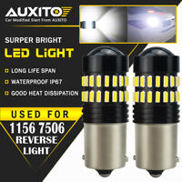 2X AUXITO BA15S 1156 P21W 7506 Reverse Backup Light Xenon White 7506L LED Bulb A
