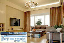 "2 Meters (79"") Remote Control Electric Curtain Tracks, Motorized Curtain Tracks"