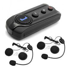 BT-S1 Bluetooth1000m Intercom Motorcycle Helmet Headset FM Radio+Free Earpiece