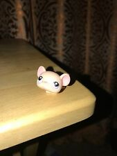 Littlest Pet Shop #103 - Pale Peach Mouse with Pink/Lavender Eyes Hasbro (2)%