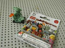Lego 8827 Series 6 -   Lady Liberty minifigure - New in package !!!