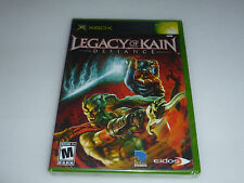 BRAND NEW FACTORY SEALED XBOX VIDEO GAME LEGACY OF KAIN DEFIANCE EIDOS NFS