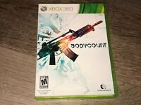 Bodycount Xbox 360 Complete CIB Authentic
