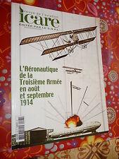 Revue ICARE n°197 l'Aéronautique de la troisième armée en août et septembre 1914