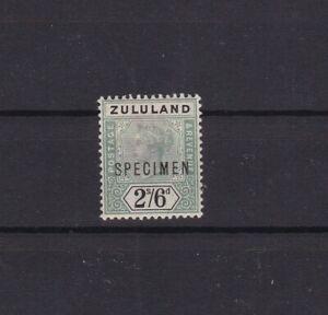 Zululand 2/6 Specimen hinged with original gum