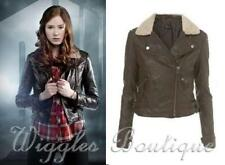 Faux Leather Hand-wash Only Regular Coats & Jackets for Women