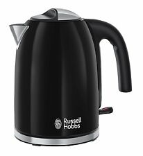 RUSSELL HOBBS 20413 COLOURS PLUS KETTLE, BLACK, 3000W, 1.7L  ***BRAND NEW***