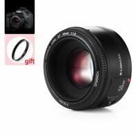 Yongnuo YN 35mm 40mm 50mm 100mm AF MF Prime Fixed Lens For Nikon D5500 D3300 D70