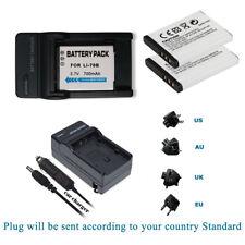 2X Li-70B  Battery &  Charger kits for Olympus VG-140 VG-150 VG-160 X-940 VG-110