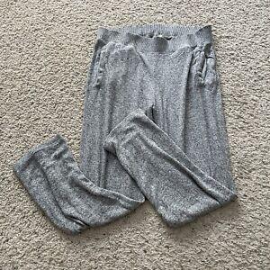 Saturday Sunday ANTHROPOLOGIE Women's Small Gray High Waist Lounge Pants