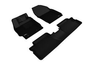 For 13-15 Scion xB Kagu Black All Weather Floor Mat Set