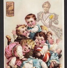 Ponds Extract 1894 Cure-All Remedy Tooth Cure Victorian Advertising Trade Card
