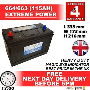 LAND ROVER DISCOVERY 2.5 TD5 Diesel MK II 1998-2004 - C31-1000 Battery - Fits Ma