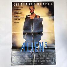 ALIEN 3 -Original Australian FULL SHEET BILL