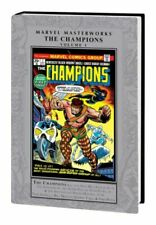 Marvel Masterworks Champions (2016) Marvel - Vol #1, Hardcover new sealed OOP