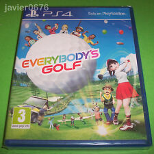 EVERYBODY'S GOLF NUEVO Y PRECINTADO PAL ESPAÑA PLAYSTATION 4 PS4