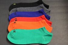 6 PAIR 10-13 men's SPORT NO SHOW LOW ANKLE CASUAL SOCKS THIN FIT SHOE 7 to 10.5