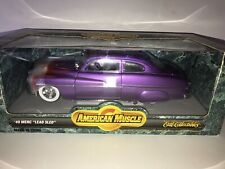 Diecast 1949 Mercury Lead Sled Custom1:18