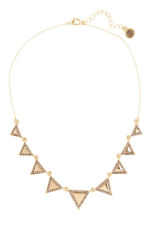 House Of Harlow 1960 Athenas Womens Gold Collar Necklace 0710