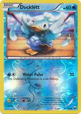 Ducklett Common Reverse Holo Pokemon Card BW5 Dark Explorers 35/108