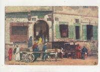 Street Scene Cairo Egypt 1905 Tuck Oilette 7204 Postcard US035
