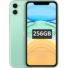 "New 6.1"" Apple iPhone 11 A2221 256GB MWMD2B/A Green Factory Unlocked 4G SIMFree"