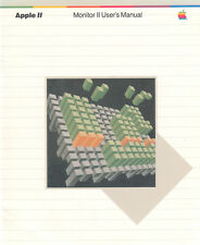 Apple Monitor II User's Manual - 1982 - 12 Pages