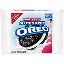 NEW Nabisco Oreo Double Stuff Gluten Free Chocolate Sandwich Cookies