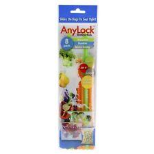 NEW Funtastic AnyLock Bag Sealers 8 Pack