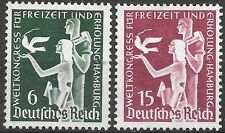 Germany 3rd Reich Mi# 622-623 MH International Recreational Congress 1936 *